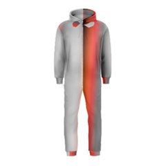 Digitally Created Abstract Colour Blur Background Hooded Jumpsuit (Kids)