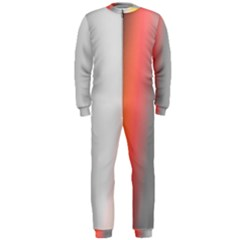 Digitally Created Abstract Colour Blur Background OnePiece Jumpsuit (Men)