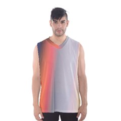 Digitally Created Abstract Colour Blur Background Men s Basketball Tank Top