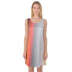 Digitally Created Abstract Colour Blur Background Sleeveless Satin Nightdress