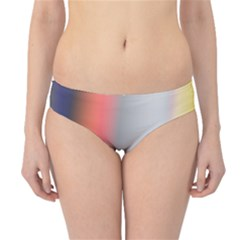 Digitally Created Abstract Colour Blur Background Hipster Bikini Bottoms