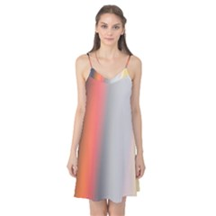 Digitally Created Abstract Colour Blur Background Camis Nightgown