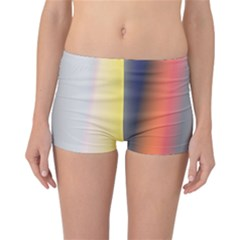 Digitally Created Abstract Colour Blur Background Reversible Bikini Bottoms