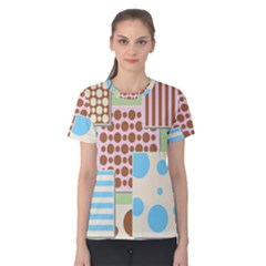 Part Background Image Women s Cotton Tee