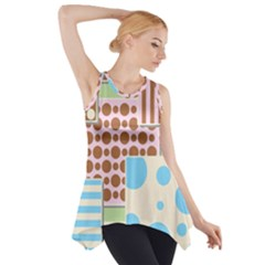Part Background Image Side Drop Tank Tunic