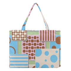 Part Background Image Medium Tote Bag