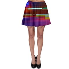 Abstract Background Pictures Skater Skirt