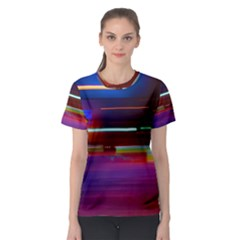 Abstract Background Pictures Women s Sport Mesh Tee