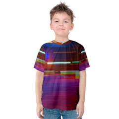 Abstract Background Pictures Kids  Cotton Tee