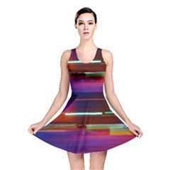 Abstract Background Pictures Reversible Skater Dress