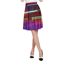 Abstract Background Pictures A Line Skirt