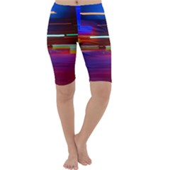 Abstract Background Pictures Cropped Leggings