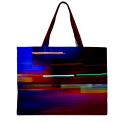 Abstract Background Pictures Zipper Mini Tote Bag