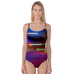 Abstract Background Pictures Camisole Leotard