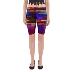 Abstract Background Pictures Yoga Cropped Leggings