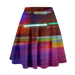 Abstract Background Pictures High Waist Skirt