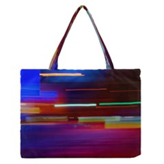 Abstract Background Pictures Medium Zipper Tote Bag