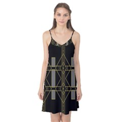 Simple Art Deco Style Art Pattern Camis Nightgown