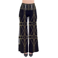 Simple Art Deco Style Art Pattern Pants