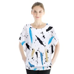 Abstract Image Image Of Multiple Colors Blouse