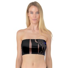An Interesting Mix Of Blue And Other Colours Balls Bandeau Top