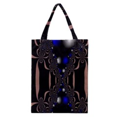 An Interesting Mix Of Blue And Other Colours Balls Classic Tote Bag