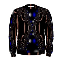 An Interesting Mix Of Blue And Other Colours Balls Men s Sweatshirt