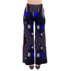 An Interesting Mix Of Blue And Other Colours Balls Pants
