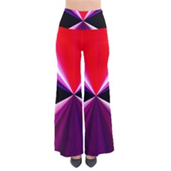 Red And Purple Triangles Abstract Pattern Background Pants