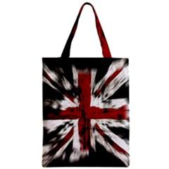 British Flag Zipper Classic Tote Bag