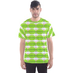 Abstract Pattern Background Wallpaper In Multicoloured Shapes And Stars Men s Sport Mesh Tee