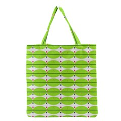 Abstract Pattern Background Wallpaper In Multicoloured Shapes And Stars Grocery Tote Bag