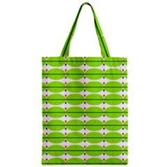 Abstract Pattern Background Wallpaper In Multicoloured Shapes And Stars Zipper Classic Tote Bag