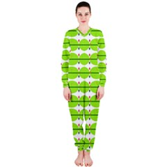 Abstract Pattern Background Wallpaper In Multicoloured Shapes And Stars Onepiece Jumpsuit (ladies)