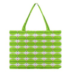 Abstract Pattern Background Wallpaper In Multicoloured Shapes And Stars Medium Tote Bag
