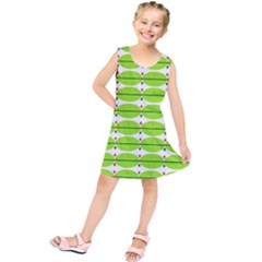 Abstract Pattern Background Wallpaper In Multicoloured Shapes And Stars Kids  Tunic Dress