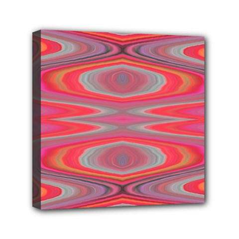 Hard Boiled Candy Abstract Mini Canvas 6  x 6