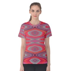 Hard Boiled Candy Abstract Women s Cotton Tee
