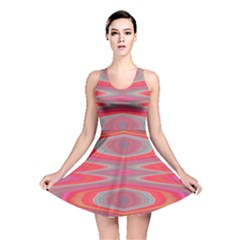 Hard Boiled Candy Abstract Reversible Skater Dress