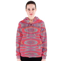 Hard Boiled Candy Abstract Women s Zipper Hoodie