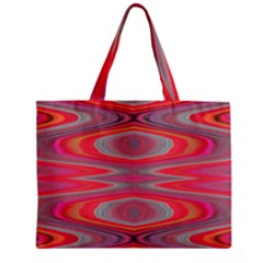 Hard Boiled Candy Abstract Zipper Mini Tote Bag