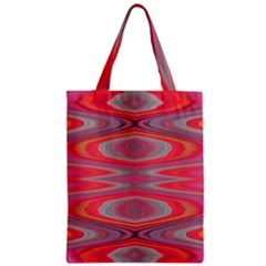 Hard Boiled Candy Abstract Zipper Classic Tote Bag
