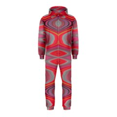 Hard Boiled Candy Abstract Hooded Jumpsuit (Kids)