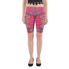 Hard Boiled Candy Abstract Yoga Cropped Leggings