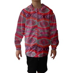 Hard Boiled Candy Abstract Hooded Wind Breaker (Kids)