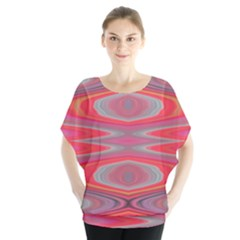 Hard Boiled Candy Abstract Blouse