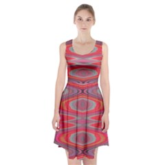 Hard Boiled Candy Abstract Racerback Midi Dress