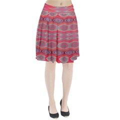 Hard Boiled Candy Abstract Pleated Skirt