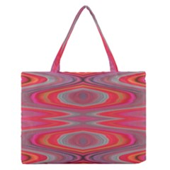 Hard Boiled Candy Abstract Medium Zipper Tote Bag