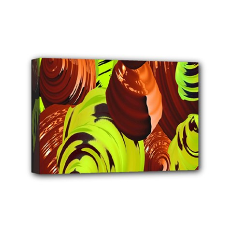 Neutral Abstract Picture Sweet Shit Confectioner Mini Canvas 6  x 4
